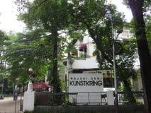 Kunstkring Art Gallery in Menteng, Jakarta. Kunstkring Art Gallery is a Dutch Colonial building Stock Images