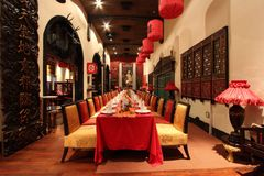 Kunstkring Paleis på Menteng - centrala Jakarta Royaltyfria Foton