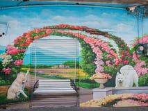 Kunstmalerei Zhongquan-Gemeinschafts 3D Lizenzfreies Stockfoto