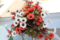 Kunstmatig bloemboeket Stock Afbeelding