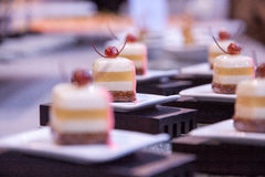 Kunstmatig dessert Royalty-vrije Stock Afbeeldingen