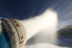 Kunstmatig sneeuwsysteem Royalty-vrije Stock Afbeelding