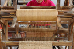 Kunstmatig textiellinnen Royalty-vrije Stock Fotografie