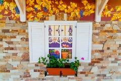 Kunstmatig venster Stock Foto's