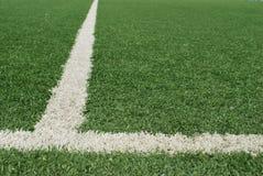 Kunstmatig voetbalgebied Royalty-vrije Stock Fotografie