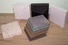 Kunstmatige acrylsteen Royalty-vrije Stock Foto's