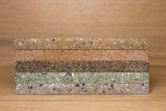 Kunstmatige acrylsteen Stock Foto's