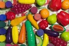 Kunstmatige groenten Stock Foto's