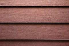 Kunstmatige houten muurachtergrond Royalty-vrije Stock Foto's