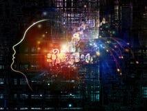 Kunstmatige intelligentie stock illustratie