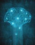 Kunstmatige intelligentie Stock Afbeelding