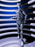 Kunstmatige intelligentie die op ons letten Stock Foto's