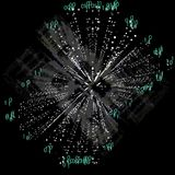Kunstmatige intelligentie en machine infographic technologieën Ve Royalty-vrije Stock Fotografie