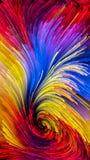 Kunstmatige Kleurrijke Verf vector illustratie