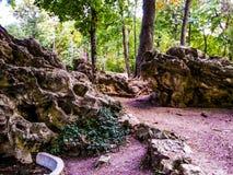 Kunstmatige rotsen Stock Afbeeldingen