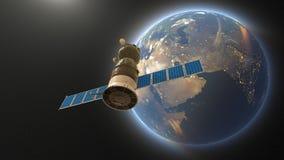 Kunstmatige satelliet stock illustratie