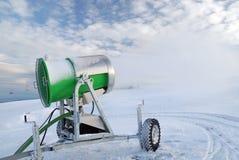 Kunstmatige sneeuw Royalty-vrije Stock Fotografie