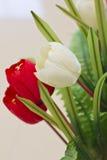 Kunstmatige tulpenbloem Royalty-vrije Stock Foto's