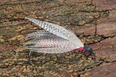 Kunstmatige vlieg voor vlieg visserij stock foto