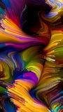 Kunstmatige Vloeibare Kleur stock foto's