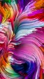 Kunstmatige Vloeibare Kleur stock illustratie