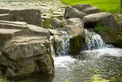 Kunstmatige Waterval Stock Foto