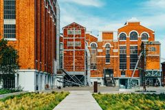 Kunstmuseum, Architektur und Technology Museu de Arte, Arquitetura e Tecnologia oder MAAT ist eine Wissenschaft und ein kulturell Lizenzfreie Stockfotografie