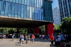 kunstmuseum in Brazilië royalty-vrije stock foto