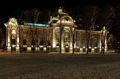Kunstmuseum Riga Stockbilder