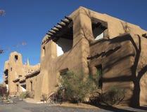 Kunstmuseum in Santa Fe Stockfoto
