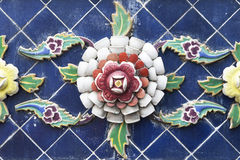 Kunstplatte-Blumengebäude Lizenzfreie Stockfotos