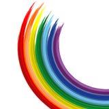 Kunstregenbogenauszugs-vektorhintergrund 2 Lizenzfreie Stockfotografie