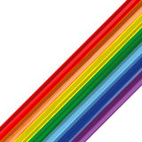 Kunstregenbogenauszugsanschlag-vektorhintergrund Lizenzfreie Stockfotos
