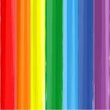 Kunstregenbogenfarbfarbenspritzen-Vektorhintergrund Stockfotos