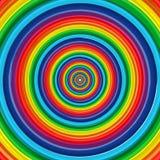 Kunstregenbogenkreisauszugs-vektorhintergrund 10 Lizenzfreies Stockbild