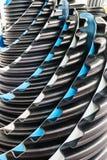 Kunststoffrohre und Installationen für das Plombieren und die Verbindungen Lizenzfreie Stockfotos