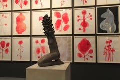 Kunsttentoonstelling in de Stad van New York Stock Fotografie