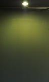 Kunstwand mit Lampe Lizenzfreies Stockbild