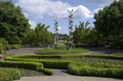 Kunstwerk botanische tuin Stock Afbeelding