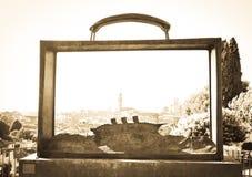 Kunstwerk in Florence, Italië Stock Foto's
