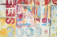Kunstwerk moderne 2009 royalty-vrije illustratie