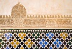 Kunstwerk op kasteelmuur Royalty-vrije Stock Afbeeldingen