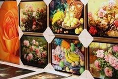 Kunstwerk op Vertoning royalty-vrije stock foto