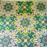 Kunstwerk van kleur Stock Afbeelding