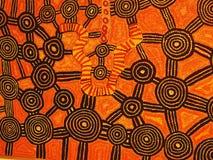 Kunstwerk van Tiwi Royalty-vrije Stock Foto's