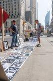 Kunstwerkverkäufer Lizenzfreie Stockfotos