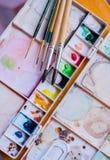 Kunstwerkzeuge Lizenzfreies Stockfoto