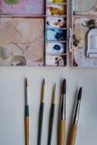 Kunstwerkzeuge Stockfotografie