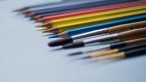 Kunstwerkzeuge Lizenzfreie Stockbilder