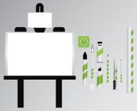 Kunstwerkzeugsatz Lizenzfreie Stockfotografie